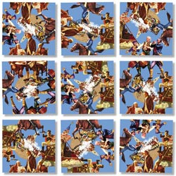 American Revolution Military / Warfare Non-Interlocking Puzzle