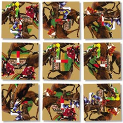 Horse Racing Horses Children's Puzzles