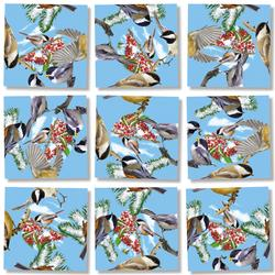 Black Capped Chickadees Birds Kids Puzzle