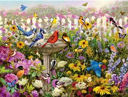 Birds of Summer Garden Jigsaw Puzzle