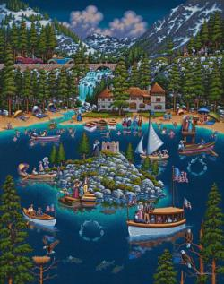 Lake Tahoe Lakes / Rivers / Streams Jigsaw Puzzle