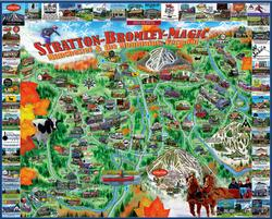 Manchester & Mountains, VT United States Jigsaw Puzzle