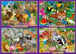 Animal Friends - Scratch and Dent Other Animals Jigsaw Puzzle