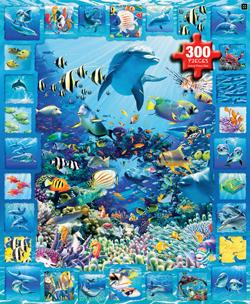 Dolphin Kingdom - Scratch and Dent Dolphins Children's Puzzles