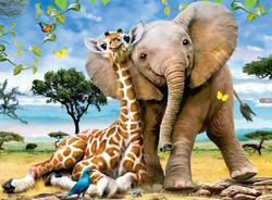 Best Pals Jungle Animals Children's Puzzles