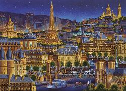 Paris City Of Lights Skyline / Cityscape Jigsaw Puzzle