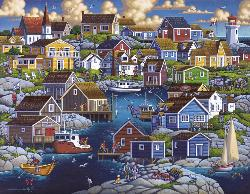 Peggy's Cove Lakes / Rivers / Streams Jigsaw Puzzle