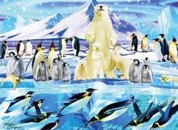 Penguin Plunge Snow Children's Puzzles