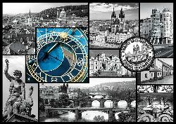 Prague (Cities Collage) Bridges Jigsaw Puzzle