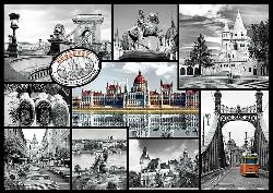 Budapest (Cities Collage) Collage Jigsaw Puzzle