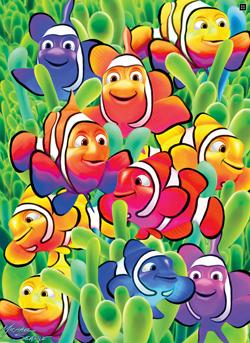 Cute Clowns Under The Sea Jigsaw Puzzle