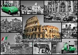Rome (Cities Collage) Collage Jigsaw Puzzle