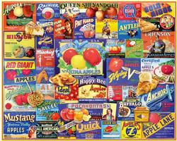 An Apple A Day Collage Jigsaw Puzzle