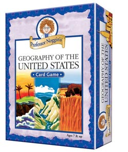 Professor Noggin's Geography of the US Maps / Geography