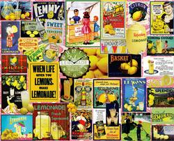 When Life Gives You Lemons Collage Jigsaw Puzzle