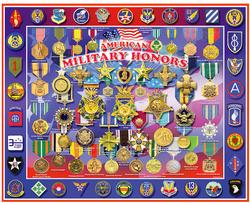American Military Honors Military / Warfare Jigsaw Puzzle