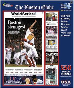 Boston Strongest Boston Jigsaw Puzzle