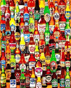 99 Bottles of Beer on the Wall - Scratch and Dent Cocktails / Spirits Jigsaw Puzzle