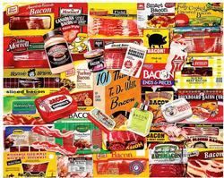 Bacon 101 Collage Jigsaw Puzzle