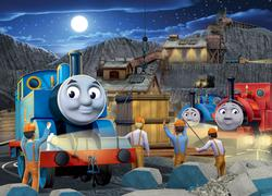 Night Work (Thomas & Friends) Movies / Books / TV Jigsaw Puzzle