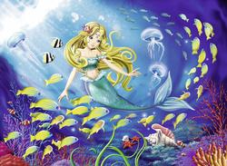 Little Mermaid Mermaids Children's Puzzles