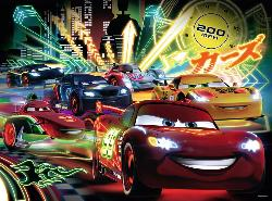 Cars Neon Cartoons Children's Puzzles