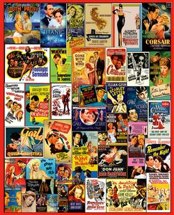 Movie Posters Nostalgic / Retro Jigsaw Puzzle