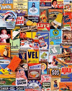 Squeaky Clean Collage Jigsaw Puzzle