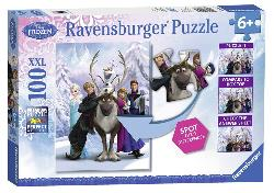The Frozen Difference Frozen Children's Puzzles
