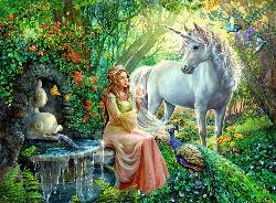 Princess and Unicorn Unicorns Children's Puzzles