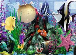 Hanging Around (Finding Nemo) Cartoons Jigsaw Puzzle