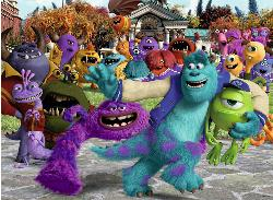 Picture Day (Monsters University) Cartoons Children's Puzzles