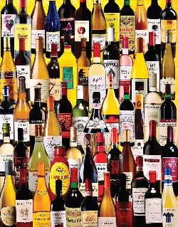 Wine Bottles Collage Jigsaw Puzzle