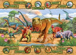 Dinosaurs Educational Children's Puzzles