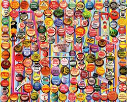 Soda Caps Collage Jigsaw Puzzle