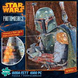 Star Wars Photomosaic - Boba Fett Movies/Books/TV Photomosaic