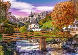 Autumn Bavaria Lakes / Rivers / Streams Jigsaw Puzzle