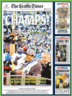 The Seattle Seahawks Magazines and Newspapers Jigsaw Puzzle