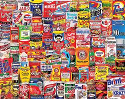 Wacky Packages Nostalgic / Retro Jigsaw Puzzle