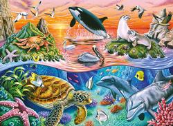 Beautiful Ocean Marine Life Jigsaw Puzzle