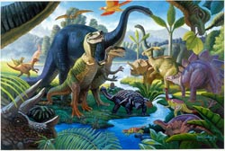 Land of the Giants Dinosaurs Children's Puzzles