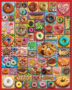 Donuts & Pastries Sweets Jigsaw Puzzle