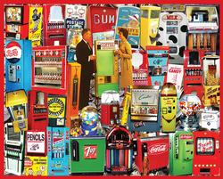 Vending Machines Collage Jigsaw Puzzle