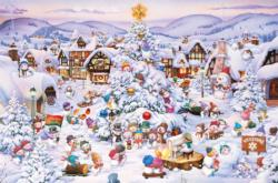 Christmas Choir Christmas Jigsaw Puzzle
