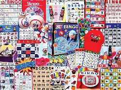 Bingo Collage Jigsaw Puzzle