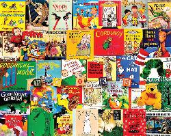 Storytime Collage Jigsaw Puzzle