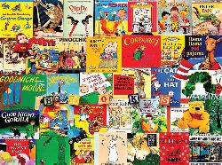 Classic Picture Books - Scratch and Dent Movies / Books / TV Jigsaw Puzzle