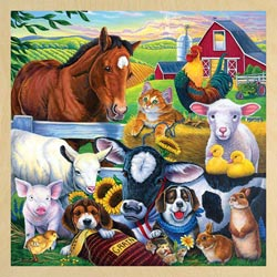 Farm Friends Pig Tray Puzzle