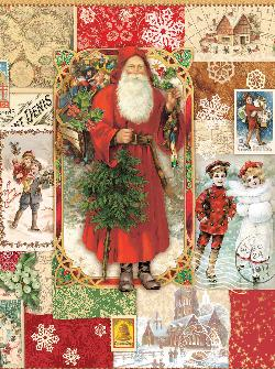 Victorian Christmas Christmas Jigsaw Puzzle