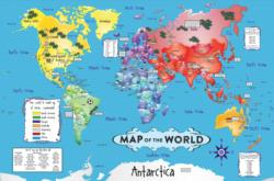 World Map Floor Puzzle Geography Children's Puzzles